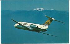 Continental DC-9 - Postcard Unposted (1960s)