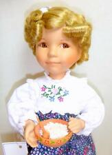 "Goldilocks 14"" Porcelain Doll w/COA & Box Dianna Effner Ashton-Drake Knowles NIB"