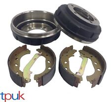 FORD TRANSIT 2.0 FWD MK6 REAR BRAKE DRUM AND SHOE KIT FULL SET 2000 - 2006
