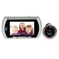 4.3''LCD Digital Peephole Electronic Eye Video Doorbell IR Camera 140°View angle