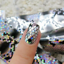 Serpentine Nail Art Foils Wraps Transfer Glitter Sticker Polish Decal Decoration