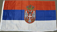 3X5 SERBIA FLAG SERBIAN FLAGS EUROPEAN EU NEW F198