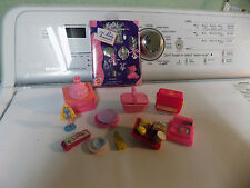 Barbie Doll Lot Kelly Pretty Treasures Set 1996 wind up Toaster McD Food Tray 86