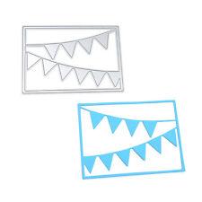 Best Wishes Banner Cutting Dies DIY Scrapbooking Album Paper Card Hand Craft New
