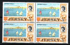 """(Ref-5970) Jersey 1969-70 Definitive 1/2d """"Elizabeth Castle""""  SG15 Mint (MNH)"""