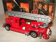 New Rare Matchbox YFE05 1932 Mercedes Benz Ladder Truck, Fire Services Vehicle