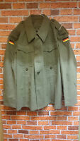 VINTAGE GERMAN ARMY WOOL LOVAT MOUNTAIN JACKET