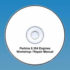 Perkins 6.354 Series Engines Workshop Repair Manual CD PDF