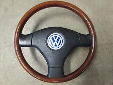 Holzlenkrad Airbag Sportlenkrad HOLZ Lenkrad VW Golf 4 Passat 3B 3BG 3B7419091H