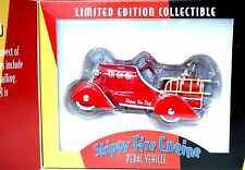 1930's Skippy Fire Engine Pedal Car Replica Limited Edition Collectible New !!!