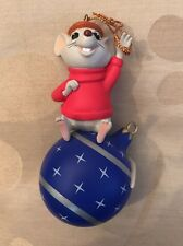 Disney Grolier Presidents Edition Bernard The Rescuers Xmas Decoration Ornament