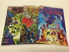 DRACULA VLAD THE IMPALER #1-3 (TOPPS COMICS/ROY THOMAS/121643) FULL SET LOT OF 3