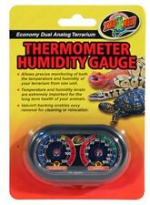 Zoo Med Analog Dual Thermometer and Humidity Gauge