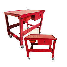 1/2 Ton Transmission Tear Down Table 1000 LB Mechanic Work Bench Table Cart