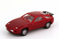 1:87 Porsche 928 S4 dark red red red Headlight chromed - herpa 2071