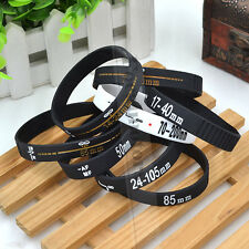Silicone Black DSLR Camera Lens Band Wristband Bracelet Unisex New Fashion 1PC