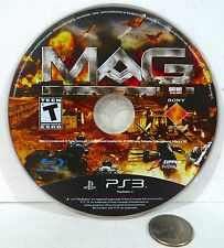MAG (Sony PlayStation 3, 2010) Online Game Disc Only !!! PS3