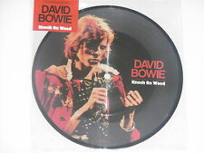 "David Bowie-Knock on wood - 7"" 45 picture disc neuf"