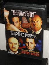 No Way Out / Company Business (DVD) Gene Hackman, Kevin Costner, BRAND NEW!