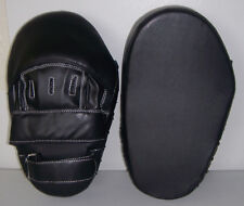 Focus Mitt / Punch Mitts / Striking Pad Curved, Covered Finger - Free Shipping