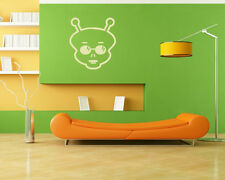 Alien Head UFO Vinyl Wall Decal Sticker Removable Graphic Child's room 1