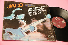 JACO PASTORIUS PAT METHENY QUARTET LP IMPROVISING ARTISTS ORIG 1976 NM SHRINK CO
