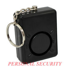 PERSONAL SECURITY 120dB SQUARE Panic Alarm,Safety Guard Siren key chain and cord