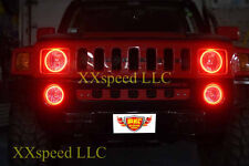 ORACLE Hummer H3 2005-2010 RED LED Headlight Halo Angel Eyes Kit