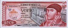 Mexiko / Mexico 20 Pesos 1977 Pick 64d UNC