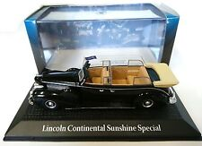 LINCOLN CONTINENTAL SUNSHINE SPECIAL 1:43 YALTA 1945 NOREV MODEL VOITURE DIECAST