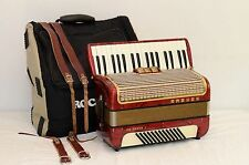 Hohner Concerto II 72 BASS ACCORDION/EXCELLENT CONDITION/DHL WORLD WIDE SHIPPING
