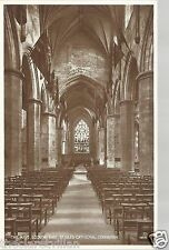 Nave looking East St. Giles Cathedral  Edinburgh 1912 Unposted Postcard