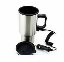 Car & Van Electric Thermos Stainless Steel Coffee & Tea Mug with Adaptor