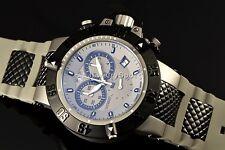 "Invicta 50mm Subaqua Noma III ""Shark Edition"" Swiss Chronograph Strap Watch NEW"