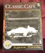 Cat Nap III Classic Cats 500 Piece Jigsaw Puzzle NEW SEALED David McEnery