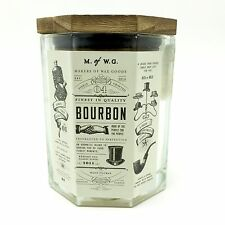 Bourbon Fragranced Scented Candle Wood Wick Makers of Wax Goods