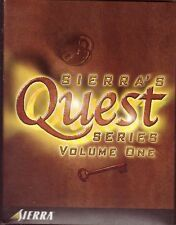 PC - SIERRA'S QUEST SERIES VOLUME ONE - COMPLETE Police Space Glory King's Quest