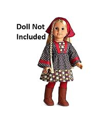American Girl Doll Julie CALICO DRESS OUTFIT Complete-New without box