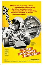 JAMES GARNER documentary movie poster '70 THE RACING SCENE sports car 24X36