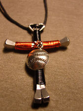 San Fransisco Giants  Disciples Cross style  Necklace with baseball charm