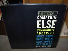 CANNONBALL ADDERLEY somethin' else ( jazz ) - blue note stereo 1595 - RVG & EAR