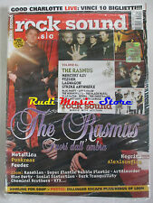 rivista ROCK SOUND 81/2005 +CD Rasmus +POSTER Dillinger Escape Plan/Kings Of Leo