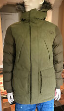 NEW RARE The North Face DEGRAY BROWN DOWN PARKA  size M $350 SAMPLE