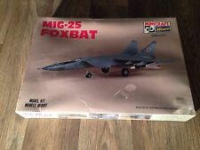Minicraft Hasegawa MiG-25 Foxbat Model Airplane Kit - 1/72 Scale