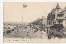 France, Trouville, Les Planches LL 18 Postcard, B083