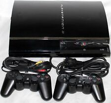 Sony PlayStation 3 60GB (PS3) Piano Black Console (CECH-A01) - GOOD CONDITION