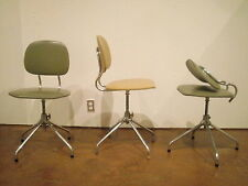 Midcentury Modern Scandinavian Folding Back Adjustable Height Task Chair FS mark