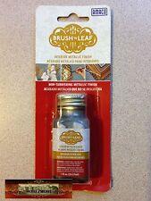 M00596 MOREZMORE Brush 'n Leaf Metallic Paint Silver Leaf Liquid Gilding T20