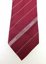 Tempco Union corporate tie Refrigerated transport Vintage 1980s lorry drivers
