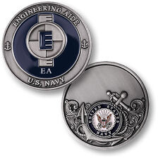 NEW U.S. Navy Engineering Aide EA Challenge Coin. 60769.